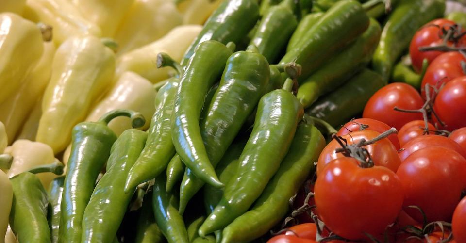 Papriky a rajčata