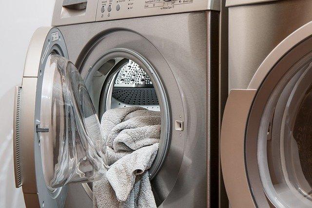 automatická pračka, prádlo