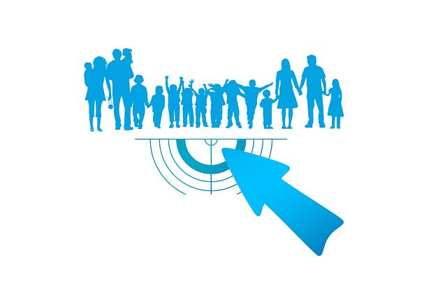 znázornění cílové skupiny reklamy